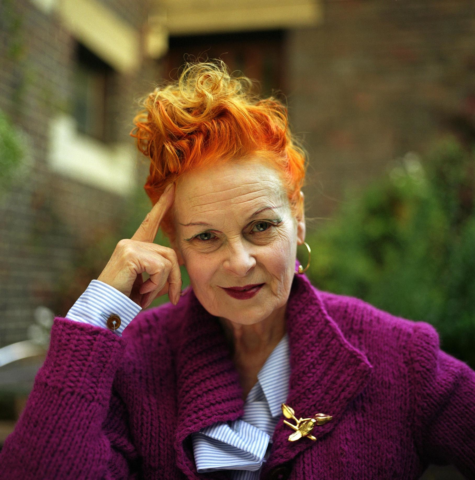 Vivienne Westwood Shares Her Tip For Reducing Food