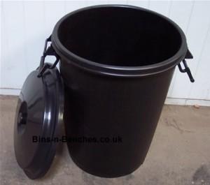 empty dustbin after zero waste week