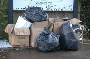 neighbours rubbish