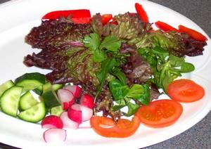zero waste salad
