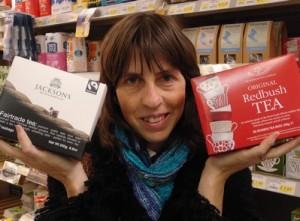 Mrs Green finds unpackaged tea