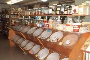 bulk bins help reduce packaging waste