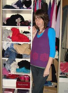 The shocking state of Mrs Green's wardrobe