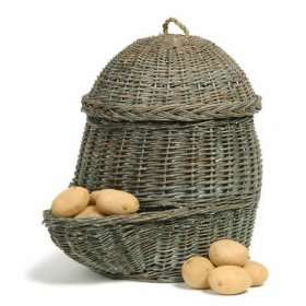 wicker potato basket from Natural Collection