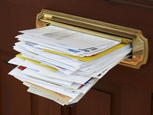 Stop junk mail and save 3.5 million trees