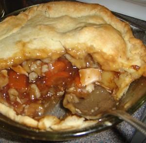 Mrs Green's 'lush nice meat pie'