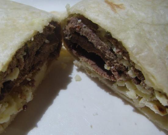 venison-mustard-cheese-wrap