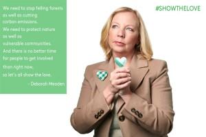deborah meaden show the love campaign for climate change
