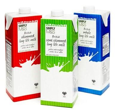 long life milk tetra pak carton